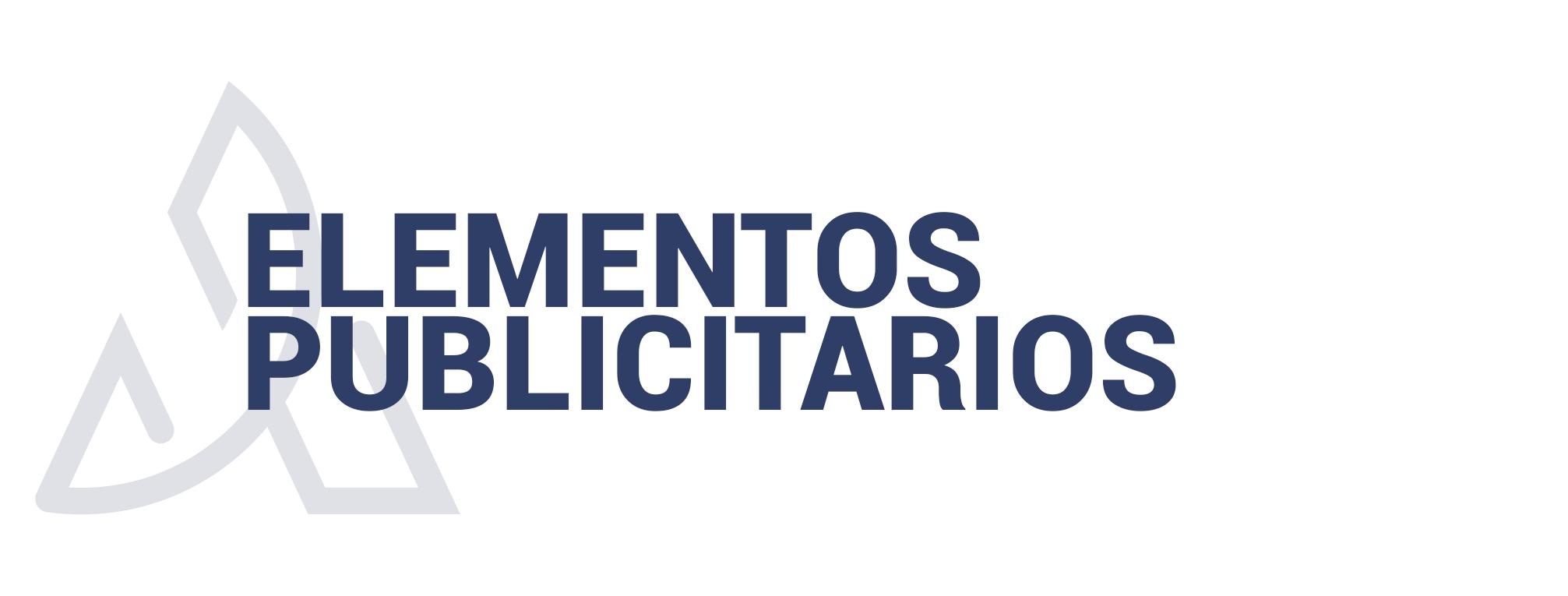 ELEMENTOS PUBLICITARIOS
